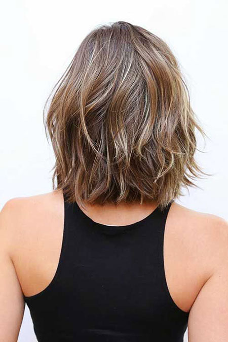 Layered Short Shoulder Length Hair, Hair Short Bob Choppy