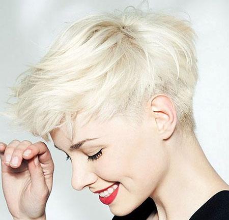 Pixie Style, Short Pixie Blonde Hair