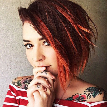 Red Hair for Girls, Hair Red Short Coloring