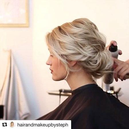 Short Hair Wedding Updo, Updo Short Wedding Hair