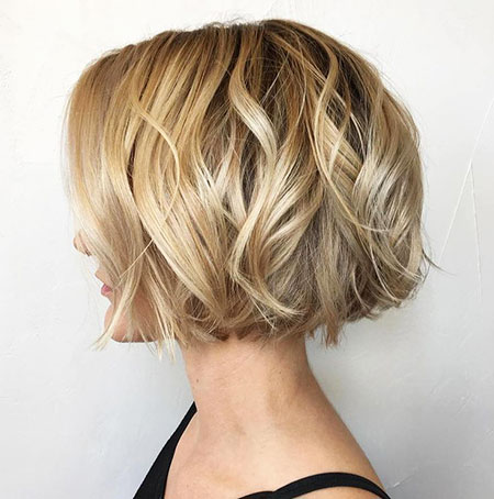 Bob Blonde Choppy Short