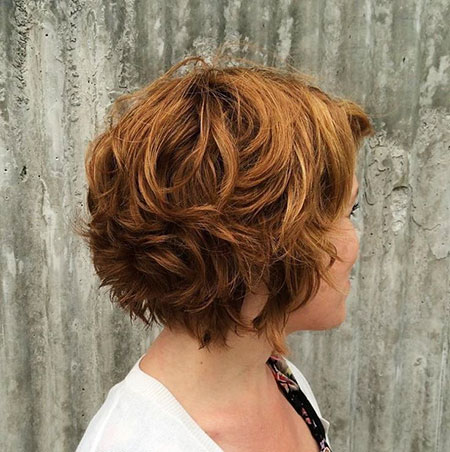 Short Curly Wavy Layered