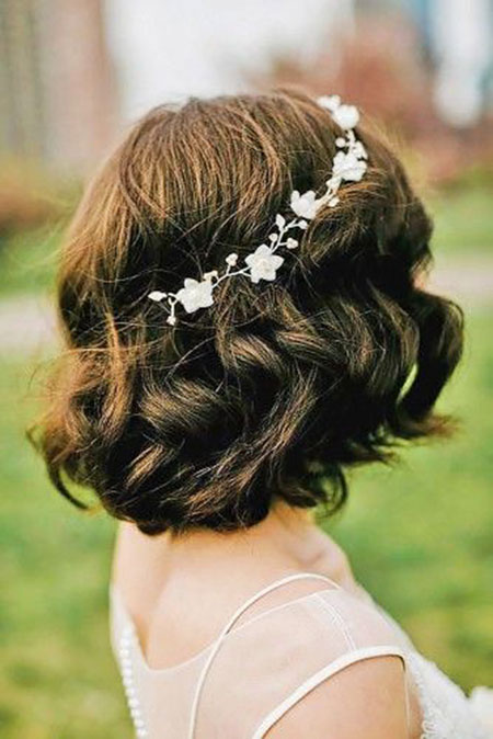 Wedding Hair Women Short