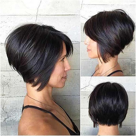 Short Bob Layered Choppy