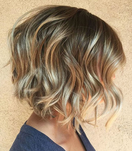 Hair Highlights Balayage Bob