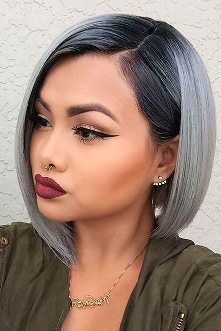 Makeup Hair Color Grey