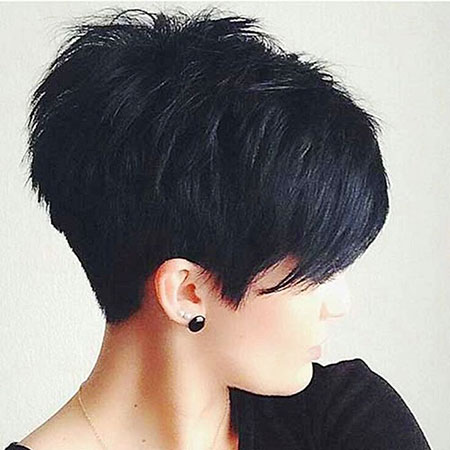 Short Pixie Textured Layered