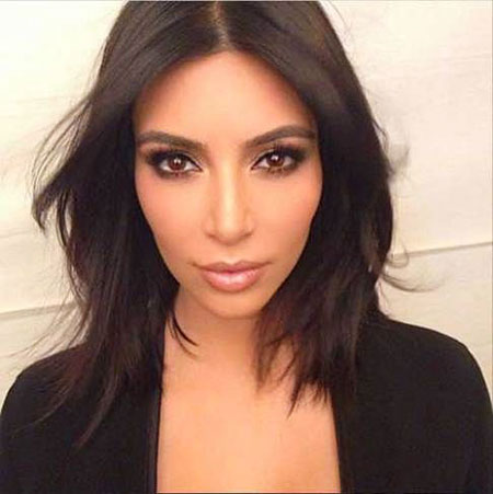 Hair Kardashian Kim Short