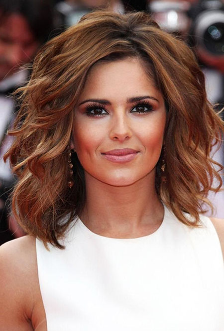 Medium Thcik Wavy Hair, Hair Wavy Cheryl Length