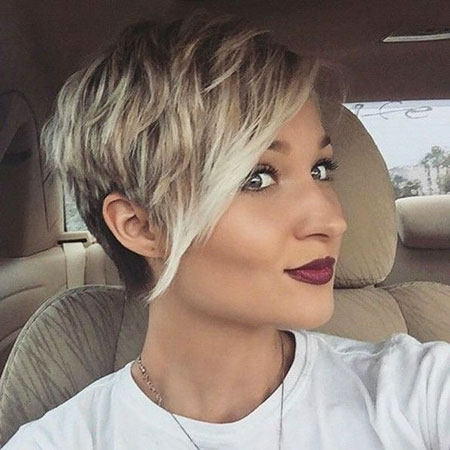 Long Bangs, Pixie Short Hair Trendy