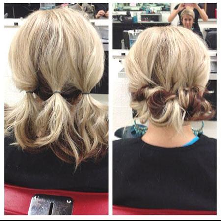 Shoulder Length Hair Updo, Hair Updo Short Easy