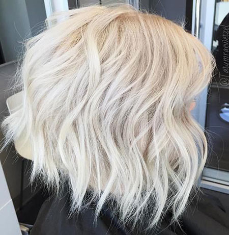 Icy Bob Hair, Blonde Bob Short Platinum
