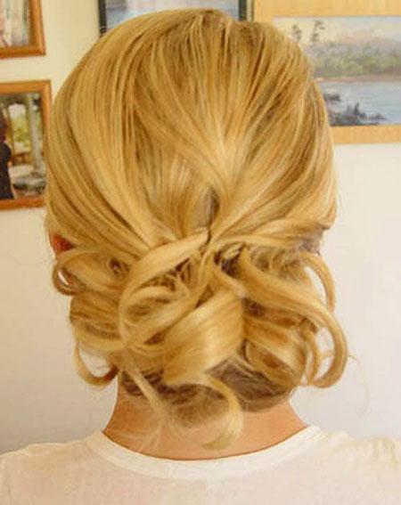 Hair Updo for Short Thin Hair, Hair Wedding Short Weddings