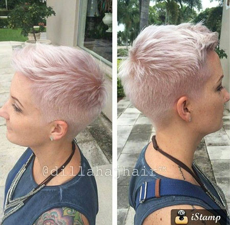 Very Short Hair, Pixie Short Hair Women