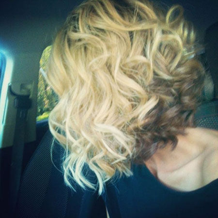 Hair Bob Inverted Curly