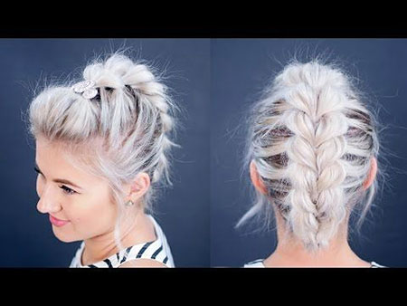 Hair Short Easy Braids