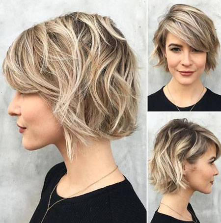 Short Hair Bob Bangs