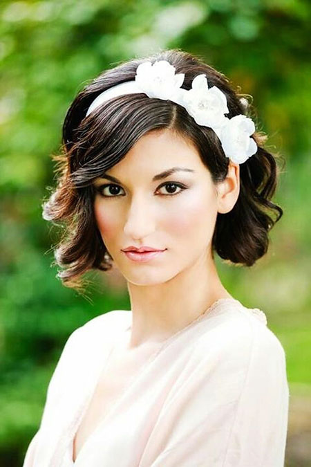 Wedding Bridal Hair Bob