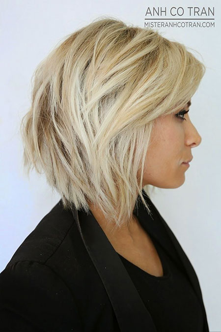 Short Hair Bob Blonde