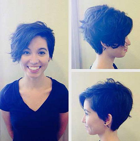 Hair Pixie Short Choppy
