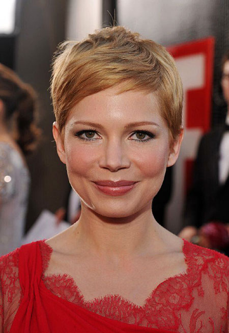 Pixie Short Hair Face