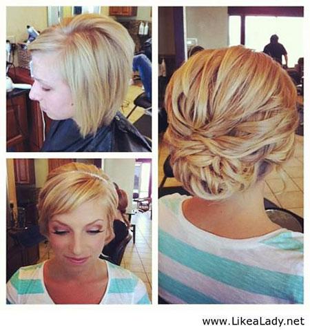 Short Hair Wedding Pixie