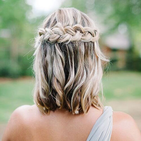 Boho Medium Hair Hairtyles