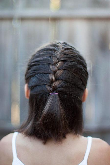 Braid Hairtyle for Short Hair, Hairtyles French Hair Braid