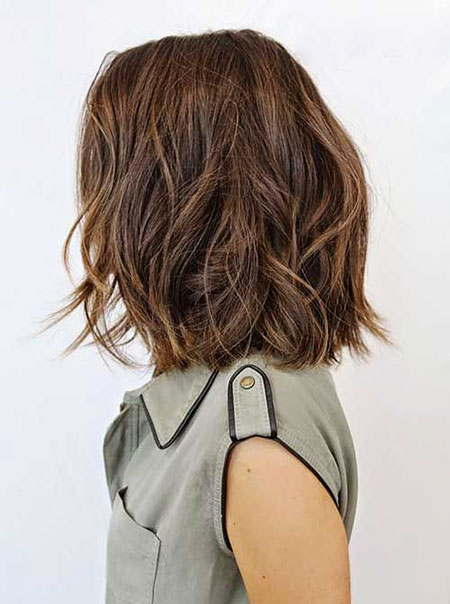 Short Haircut for Thick Hair, Bob Hairtyles Wavy Women