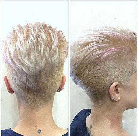 Short Trendy Haircut, Pixie Cut Choppy Women