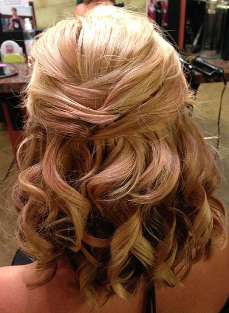 Short Wedding Hairtyle, Hair Length Wedding Shoulder