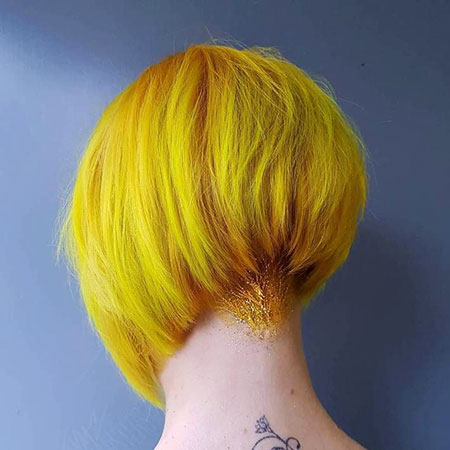 Bob Pixie Yellow Stacked
