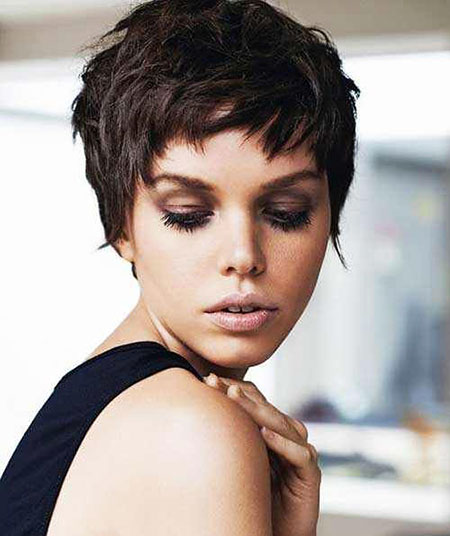 Hair Pixie Short Women