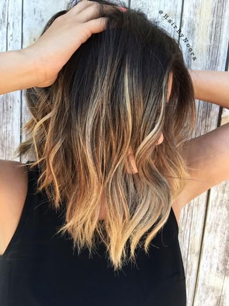 Balayage Hair Brunette Ombre