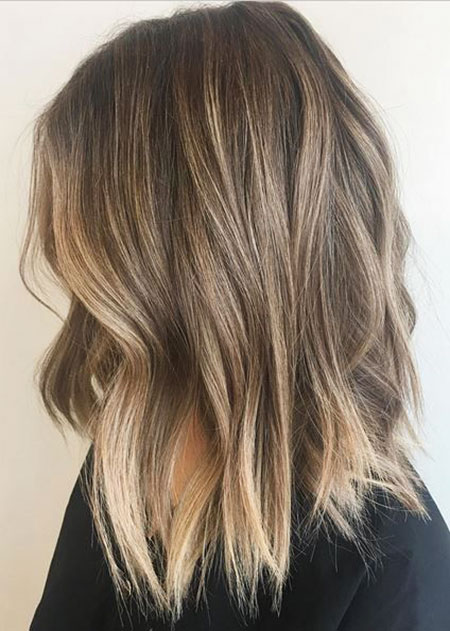 Balayage Blonde Hair Dark