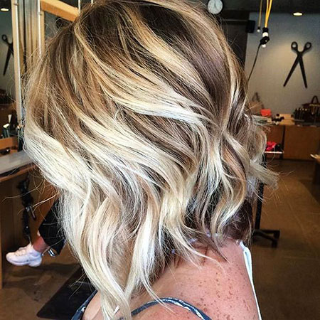 Blonde Bob Highlights Hair