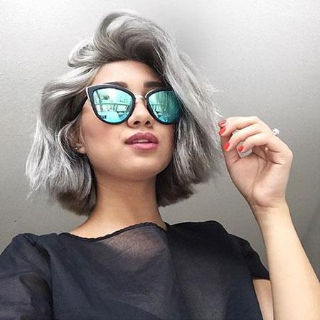 Hair Grey Dye Silver