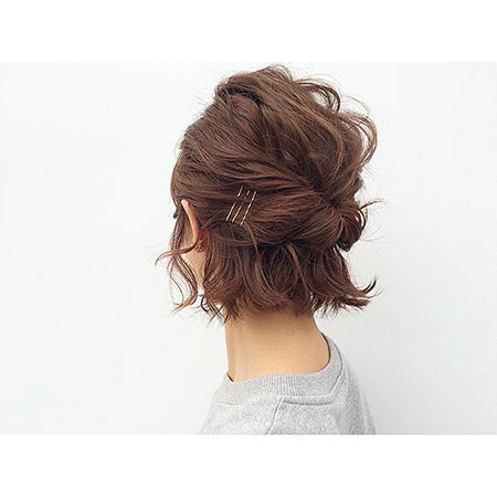 Hair Hairtyles Updo Short