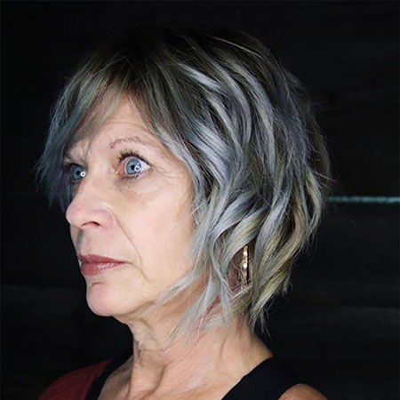 Hair Older Women Short