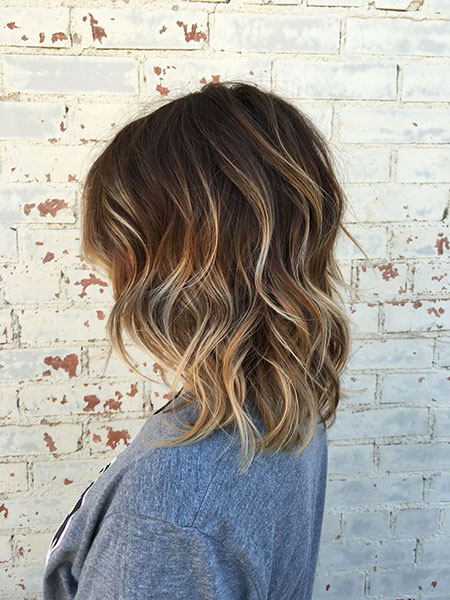 Brown Hair Balayage Highlights