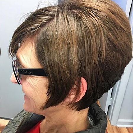 Bob Choppy Angled Hair