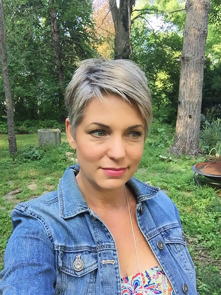 Pixie Short Hair Gray