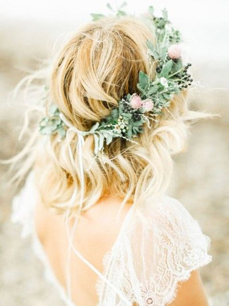 Wedding Flower Coiffure Hair