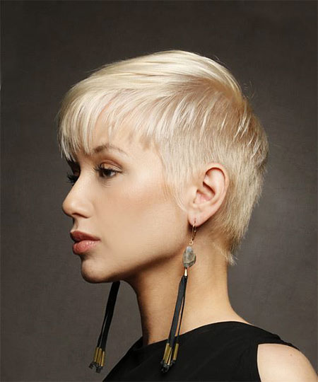Pixie Short Blonde Straight
