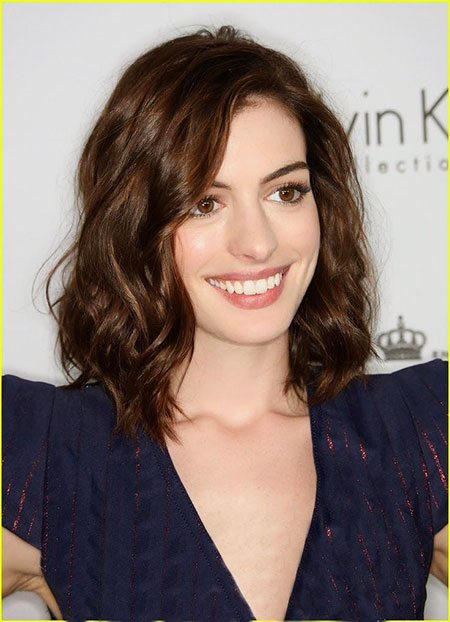 Length Anne Hathaway Hair