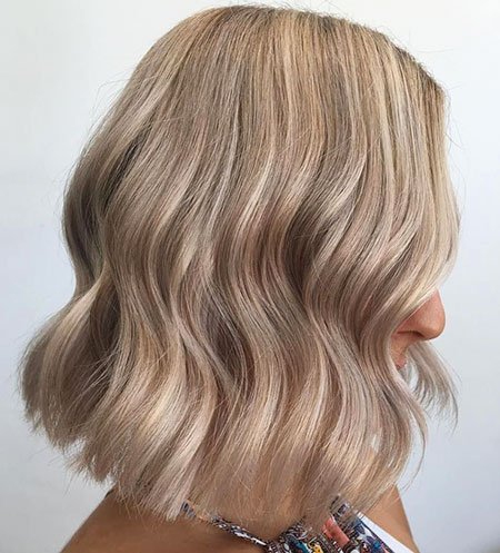 Blonde Hair Ash Color