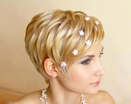Short Bride Hairtyles One