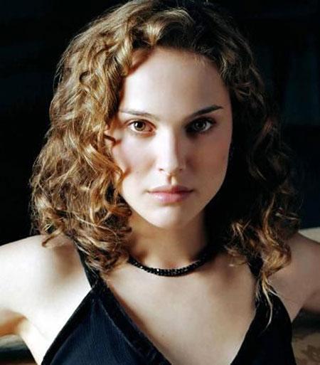 Curly Bob Hairtyle, Curly Hair Natalie Portman