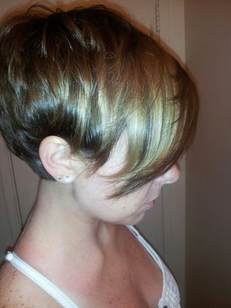 Hair Long Pixie Bangs