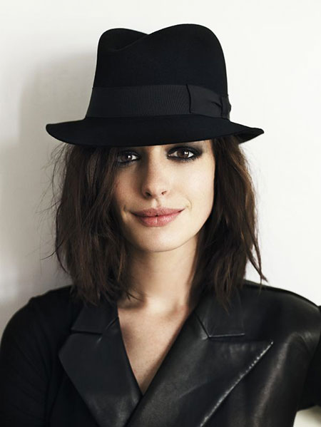 Anne Hathaway Hat Wool